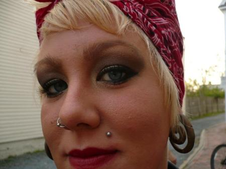 BEARDED LADY PIERCING NORTHAMPTON PROVINCETOWN BODY ART MONROE WITH A PEARL PIERCINGS